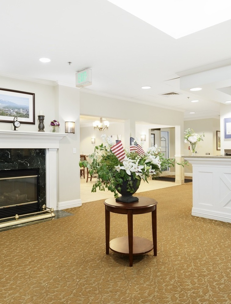 CAPITOL HILL SENIOR LIVING SALT LAKE CITY UTAH LOBBY